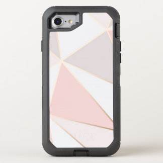 Geometric Triangles OtterBox Defender iPhone 8/7 Case