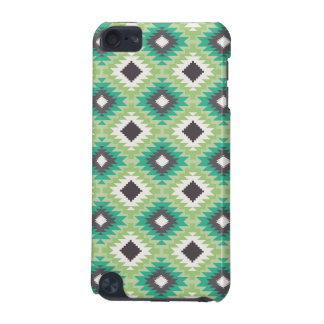 Geometric tribal aztec hipster navajo aqua pattern iPod touch 5G covers