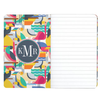 Geometric Tropical Birds | Monogram Journal