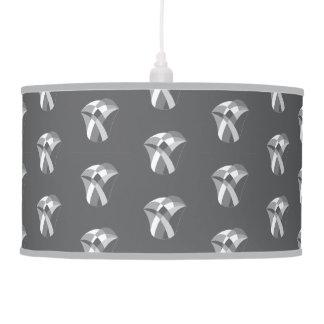 geometric tulip light shade pendant lamp
