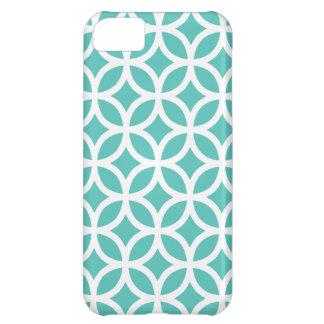 Geometric Turquoise iPhone 5 Case