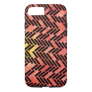 Geometric Watercolor Sunset iPhone 7 Case