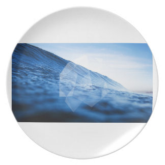 Geometric Wave Party Plate