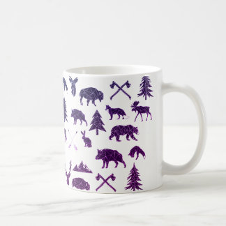 Geometric Woodland Animals | Animal Coffee Mug