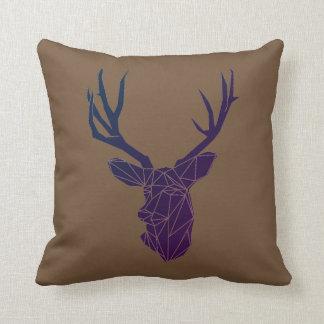 Geometric Woodland Animals   Animal Throw Pillow