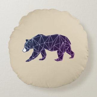 Geometric Woodland Animals | Bear Throw Pillow