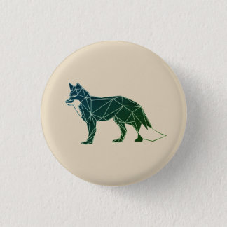 Geometric Woodland Animals | Feelin' Foxy Button