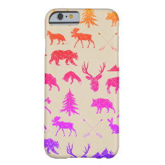 Geometric Woodland Animals | iPhone 6/6s Case