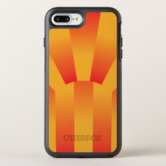 Geometric Yellow and Red Gradient OtterBox Iphone