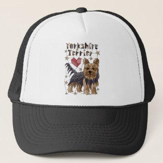 Geometric Yorkshire terrier Trucker Hat