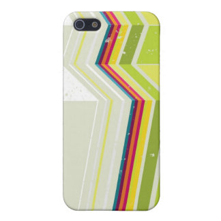 Geometric Zig Zag Stripes iPhone 5 Cases