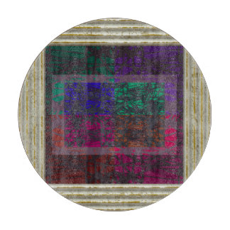 Geometrical Abstract Cutting Board