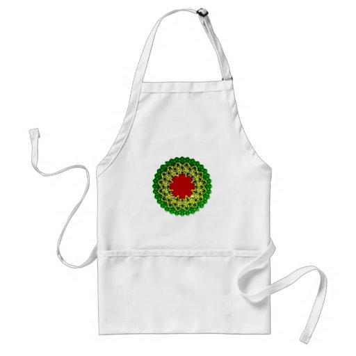 geometrical bloom geometric bloom apron