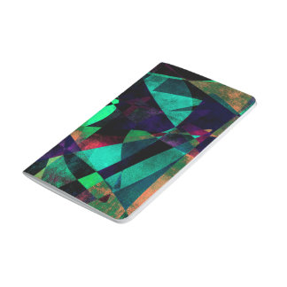 Geometrical, Colorful, Textured Abstract Art Journal
