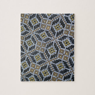 Geometrical Dot painted pattern Puzzle