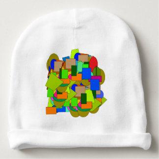 geometrical figures baby beanie