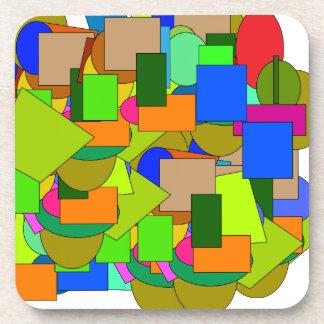 geometrical figures coaster