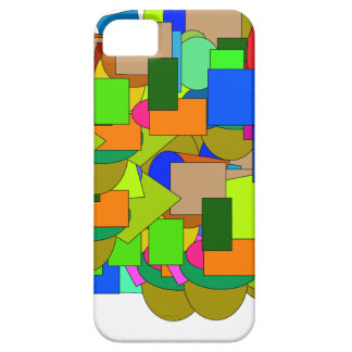geometrical figures iPhone 5 cover