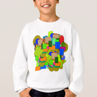 geometrical figures sweatshirt