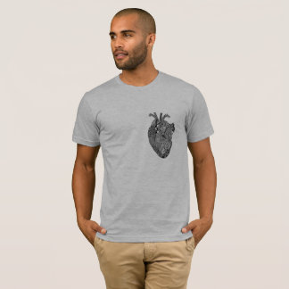 Geometrical heart T-Shirt