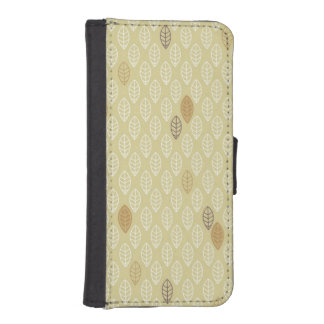 Geometrical Leaf iPhone 5 Wallet Cases