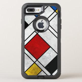Geometrical OtterBox Defender iPhone 8 Plus/7 Plus Case