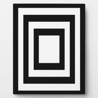 Geometrically Plaque