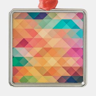 Geometries Metal Ornament