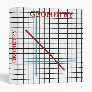 "Geometry - 1"" Binder"