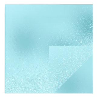 Geometry Celestial Harmony Blue Sky Spark Diamon Acrylic Print
