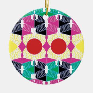 Geometry Ceramic Ornament