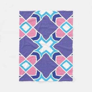 geometry fleece blanket
