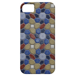 Geometry in blue iPhone 5 iPhone 5 Covers
