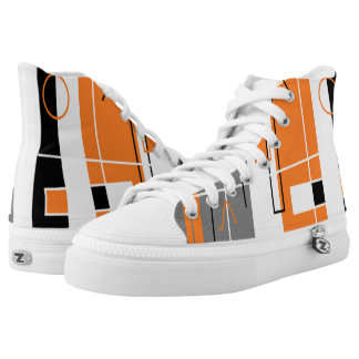 Geometry inspiration Funky Sneakers