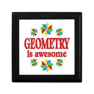 Geometry is Awesome Jewelry Boxes