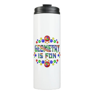 Geometry is Fun Thermal Tumbler