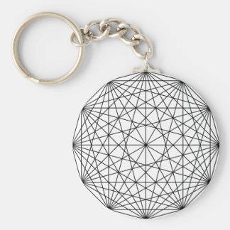 Geometry Keychain