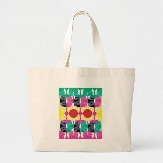 Geometry Large Tote Bag