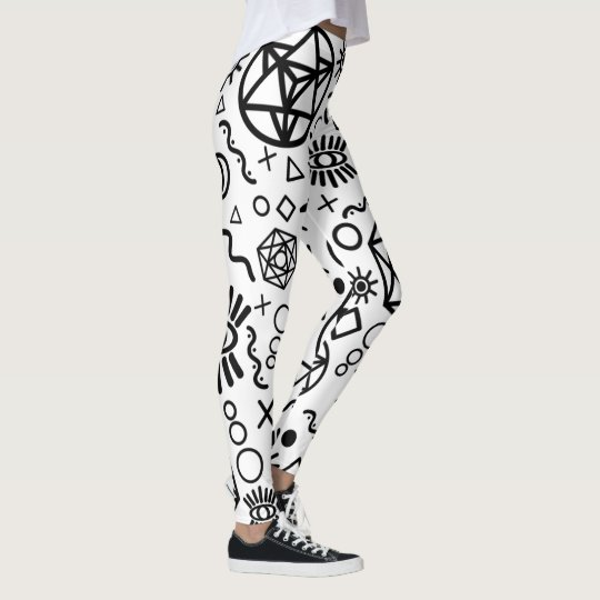 Geometry Line Starseed Symbols Leggings