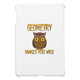 Geometry Makes You Wise Cover For The iPad Mini