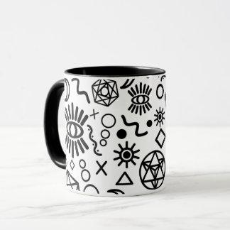 Geometry Mug for Tea and Coffee Lovers