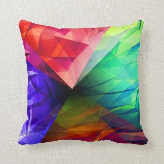 Geometry of Light Throw Pillow