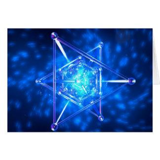 Geometry of Spirit Greeting Card