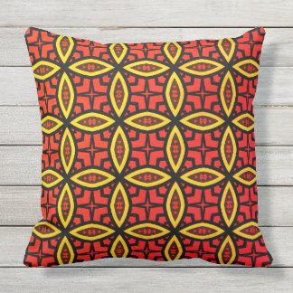 geometry outdoor pillow