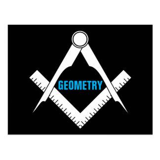 Geometry Postcard