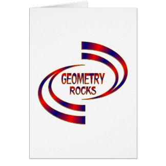 Geometry Rocks Card