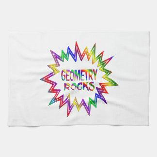 Geometry Rocks Kitchen Towel