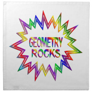 Geometry Rocks Napkin
