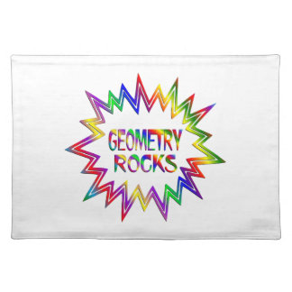 Geometry Rocks Placemat