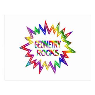 Geometry Rocks Postcard